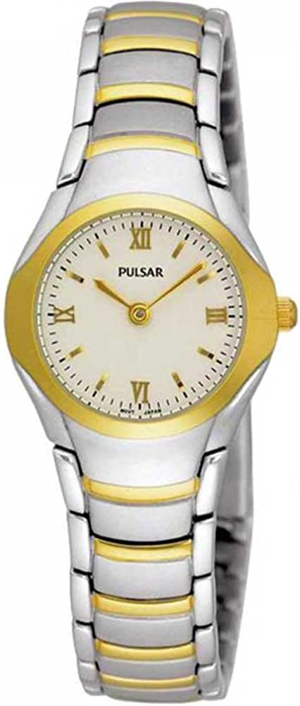 Pulsar PEG406X1 Ladies Quartz Stainless Steel Watch