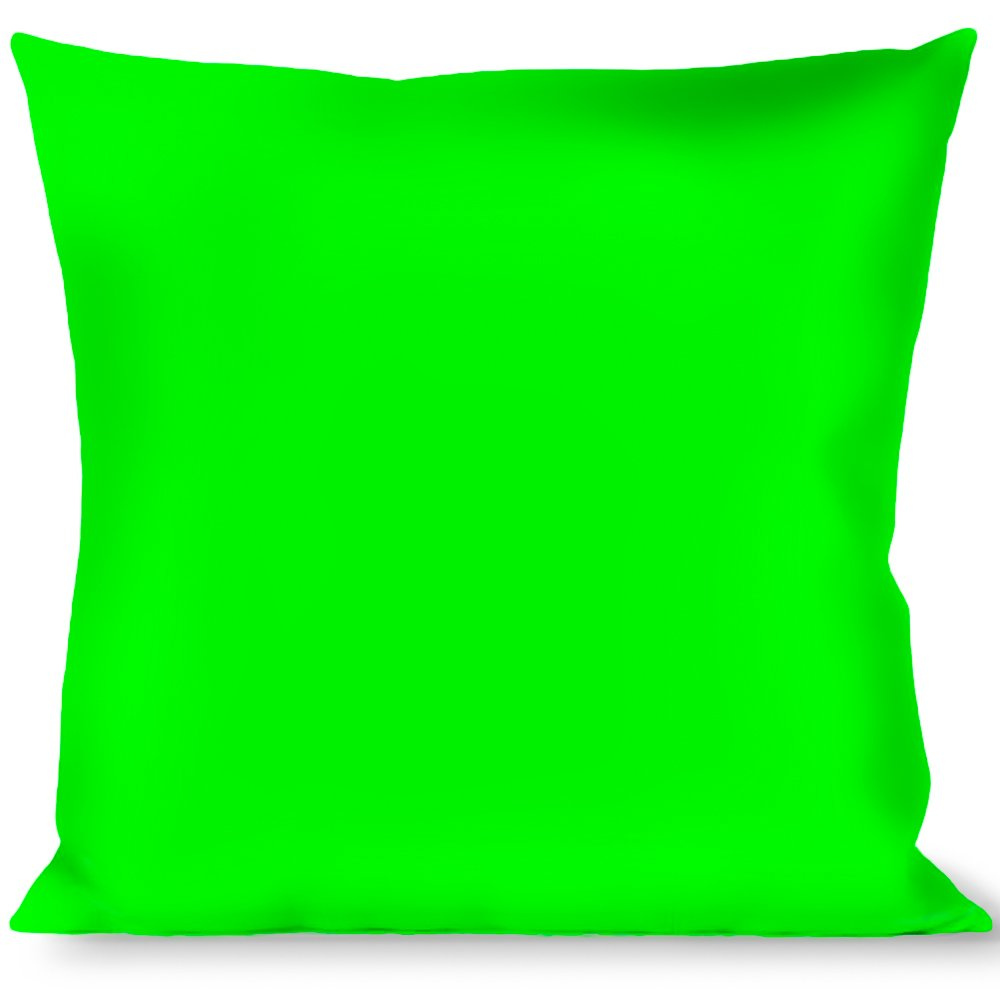 Buckle Down Throw Pillow, Neon Green