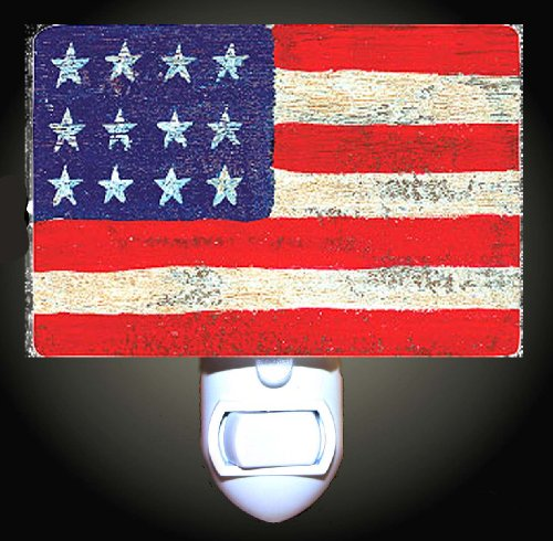 Americana Flag Decorative Night Light