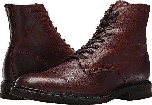 FRYE Men's Seth Cap Toe Lace-up Brown Oiled Pull up 8.5 D US by FRYE