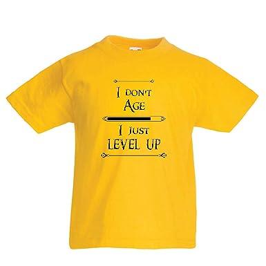 lepni.me Camiseta para Niño/Niña No envejezco, sólo subo de ...