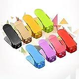 Transer Shoe Slots Adjustable Organizer, Space Saver Storage Rack Holder, Pack of 8
