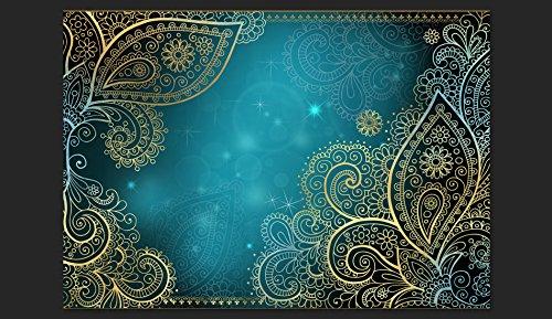 Murando - Fototapete 350x256 cm cm cm - Vlies Tapete - Moderne Wanddeko - Design Tapete - Wandtapete - Wand Dekoration - Orient Ornament lilat Gold bokeh f-A-0146-a-c B00W9TSQ60 Wandtattoos & Wandbilder 988e2f