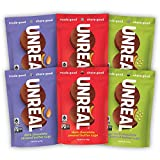 UNREAL Dark Chocolate Nut Butter Cups Variety Pack   Vegan, Non-GMO, Gluten Free   6 Bags … -  Unreal Brands