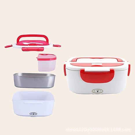 YHML Caja de Almuerzo eléctrica microondas Alimentos calefacción ...