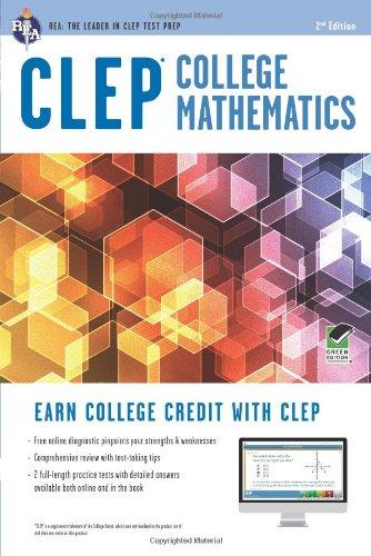 CLEP® College Mathematics Book + Online (CLEP Test Preparation)