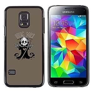 LECELL--Funda protectora / Cubierta / Piel For Samsung Galaxy S5 Mini, SM-G800 -- Carino Grim Reaper Skeleton - Hug Me --