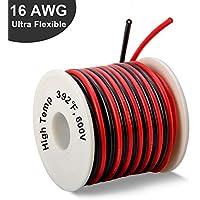 WOWOSS Cable de 16AWG Cable de Silicona súper