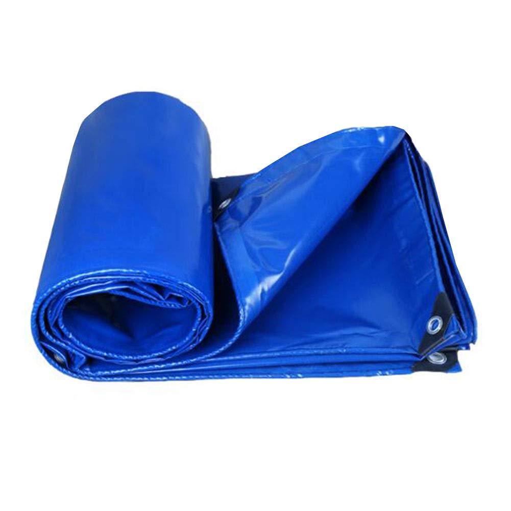 CJC Voiles d'ombrage Imperméable BÂches Couvre-Sol 350GSM Tente à Baldaquin, Boa Ou Couverture De Piscine BÂche (Couleur   bleu, Taille   5x5m) bleu 5x5m