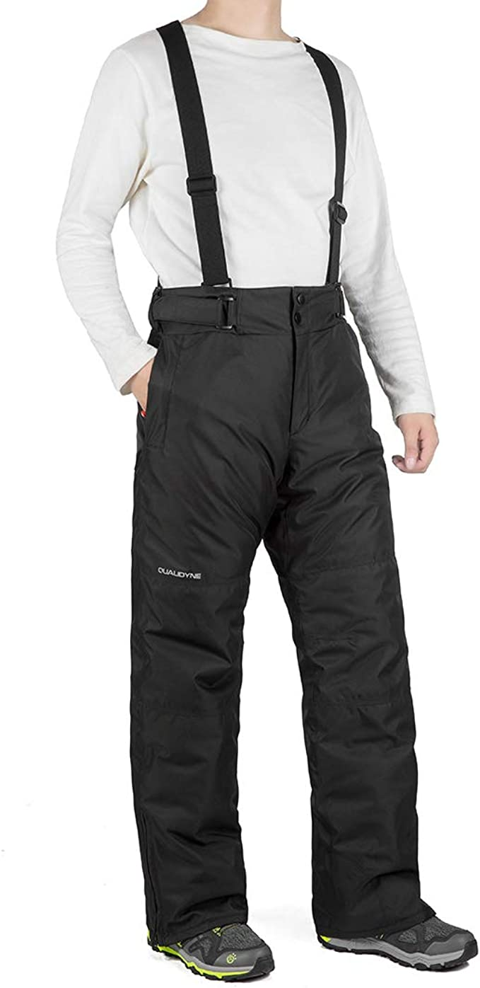 Kids Ski Pants Trousers Bib Pants Snow Overalls Waterproof for Winter Sports
