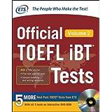Official TOEFL iBT® Tests Volume 2 (Official Toefl iBT Tests)