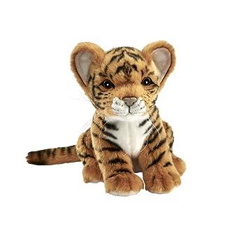 Hansa – Peluche Tigre marrón bebé Sentado 18 CMH (sustituye 3421)