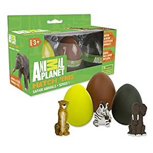 Animal Planet Grow Eggs- Safari- Hatch and Grow Three Different Super-sized Animals (Series 1) - 51xAQLmzmoL - Animal Planet Grow Eggs- Safari- Hatch and Grow Three Different Super-Sized Animals (Series 1)