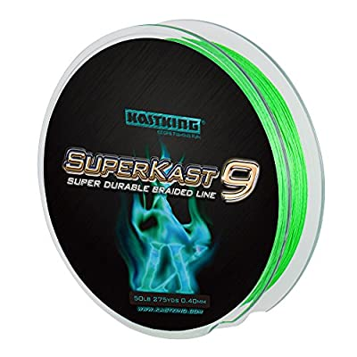 NEW! KastKing SuperKast9 - 9 Strand Braided Fishing Line – Advanced Braid Line for Maximum Casting Distance & Durability for Saltwater & Fresh Water Surf Fishing, Bass Fishing from Eposeidon