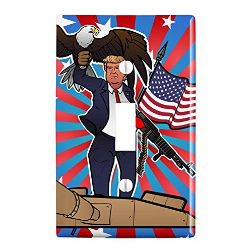GRAPHICS & MORE Patriotic Donald Trump with Eagle American, used for sale  Delivered anywhere in USA