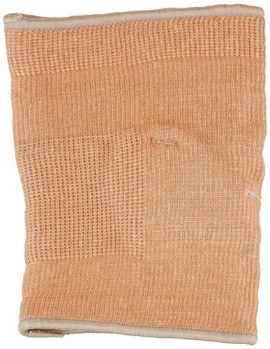Elbow Sleeve Lightweight Cotton (Rolyan Knit Elbow Support with Gel Pad, Elbow Compression Sleeve for Recovery from Muscle & Joint Pain or Swelling in the Arm, Lightweight Cotton/Elastic Wrap for Tendinitis, Beige, Large)