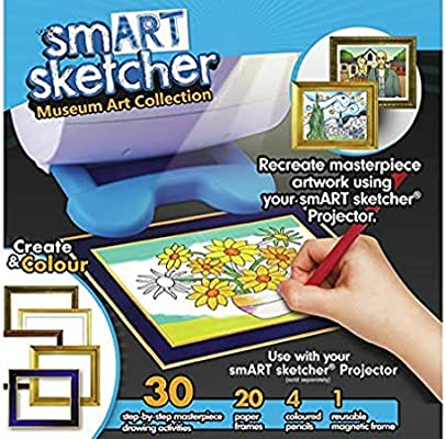 Amazon.com: smART sketcher Creativity Set- Museum Art ...