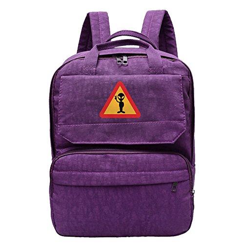 Attacks For Sale Costume Mars (Warning For Aliens Backpack For Women,Girls Leisure)