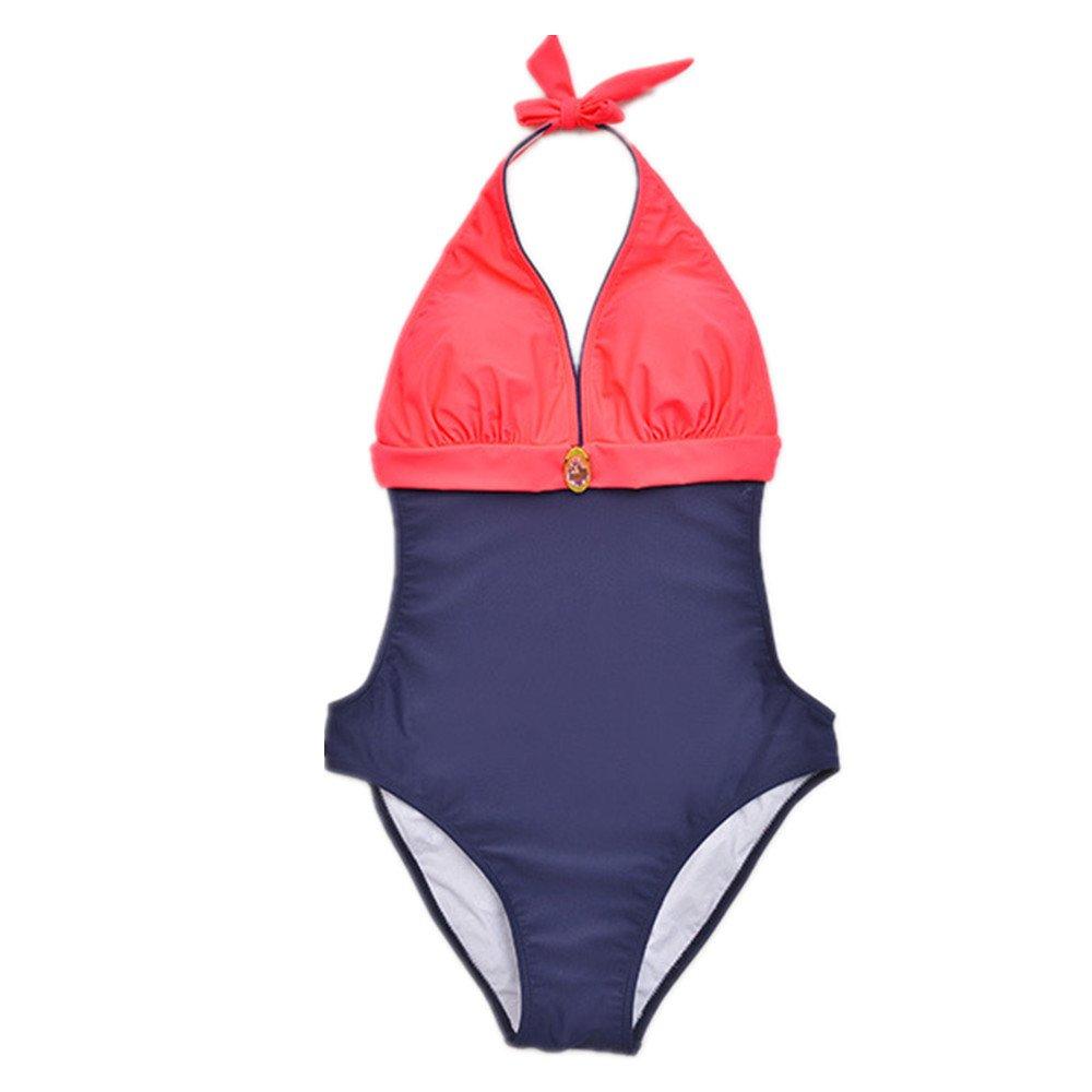 女性の 水着 女性の ワンピース水着 ハーネス水着 保守的な水着 に適用する 水泳 ウェディング エクササイズ スパ (Size : 46) B07DZQBBH5 46