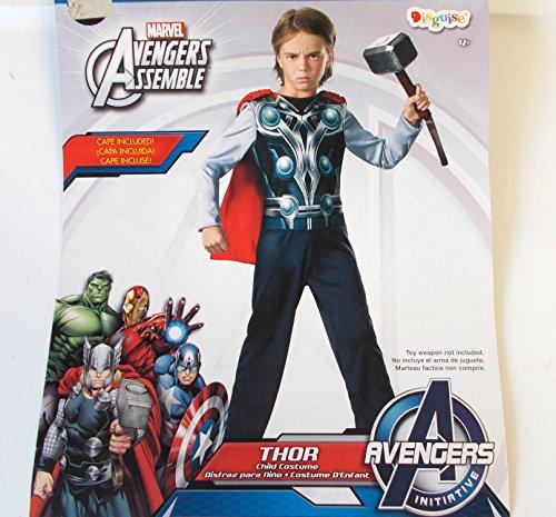 Thor Marvel Avengers Child Costume Cape S 6 -
