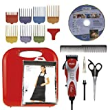 Wahl Professional Animal Deluxe U-Clip Pet Grooming Kit 17 pc set with Bonus Blade Brush