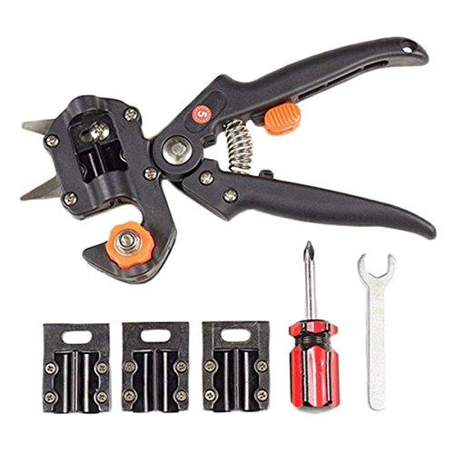 Floratek Fruit Tree Pro Pruning Shears Scissor Grafting Cutting Tool 2 Blades Garden Tools Set Pruner with Storage Bag