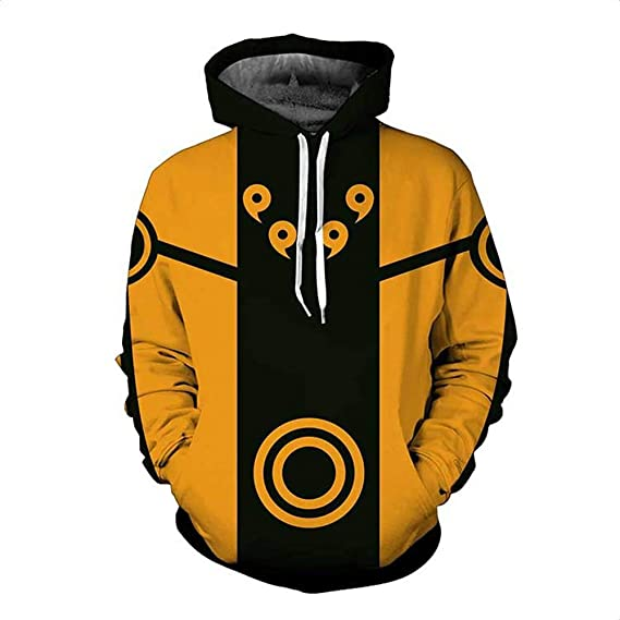 HHBY Naruto Hoodies Print Zipper Sweatershirt Sweaters Men Jackets Women Coats