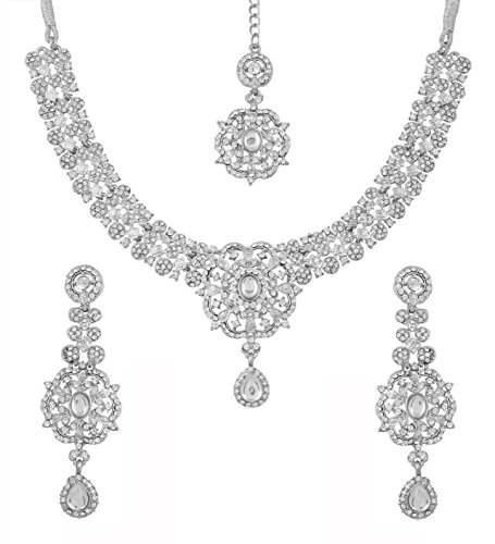 Touchstone Bollywood Enchanting Rhinestone Embellished At A Glance