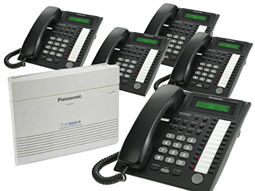 Panasonic KX-TA824 & 5 KX-T7730B Phones (Ta82493 Caller Id Feature Card)