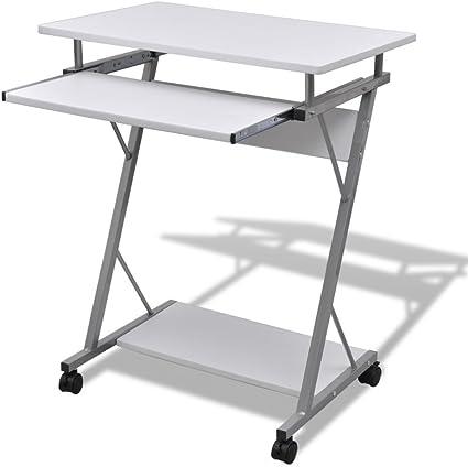 festnight – Computer escritorio mesa oficina extraíble Bandeja ...