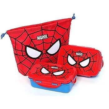 70049a84701e Amazon.com: Marvel Iron Man Lunch Box Bento Case with Chopsticks ...