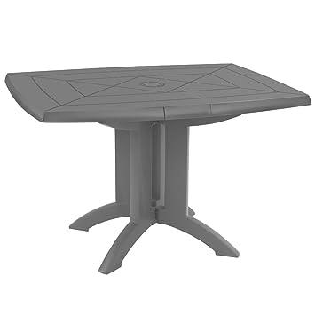 Table Pliante Resine Unique Table Résine Pliante 183×76 Azur ...