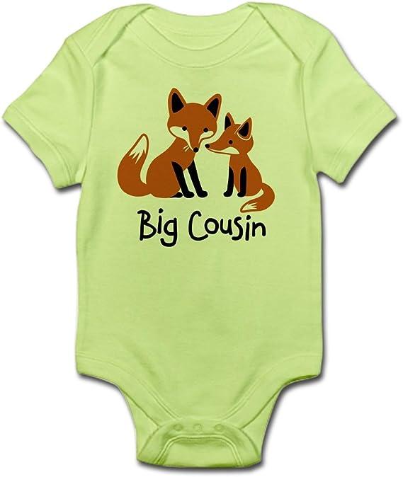 Cute Infant Bodysuit Baby Romper Mod Fox Infant Bodysuit CafePress Big Cousin