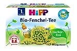 HiPP Organic Fennel Tea for Babies 20...
