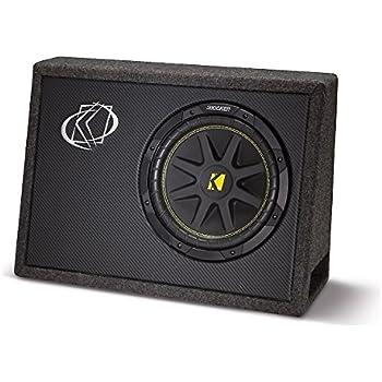"KICKER 10TC104 10"" 500W TC104 Loaded Car Audio Subwoofer + Sub Box Enclosure"