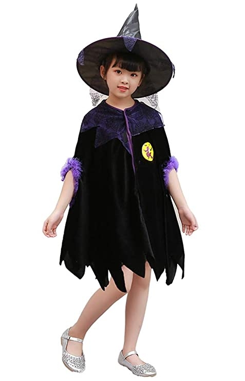 Kiddie Witch Infant Cute Purple Sorceress Halloween Costume