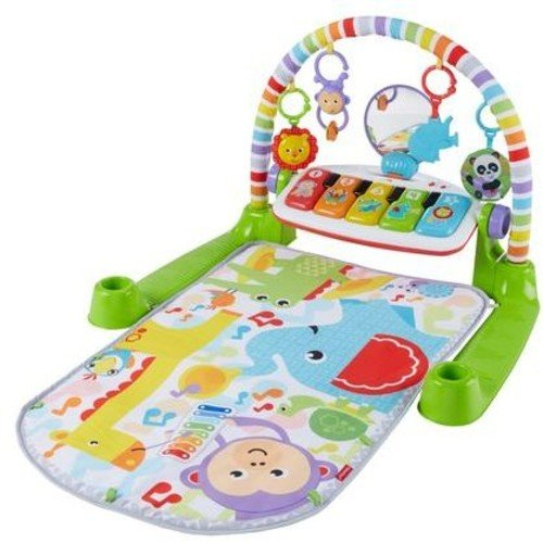 51xAU%2BUfpxL - Fisher-Price Deluxe Kick 'n Play Piano Gym