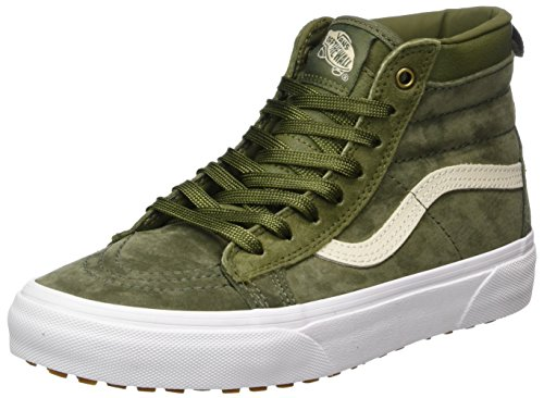 Sk8 hi Vert Adulte Mte Winter Baskets military Mixte Vans Moss mte qad6Fwa