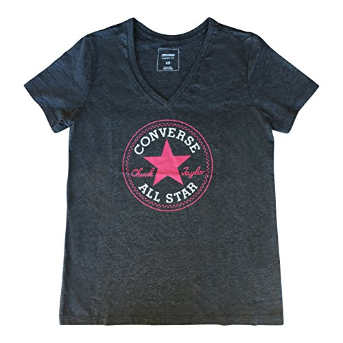 9b553ca99ad0 Converse Women s All-Star Chuck Taylor Patch Graphic T-Shirt Tee (X-Large)  - Buy Online in Oman.
