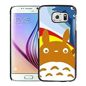 Fashion Designed My Neighbor Totoro 9 Black Samsung Galaxy S6 Phone Case