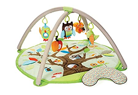 Skip Hop Baby Treetop Friends Activity Gym/Playmat, Grey Pastel 307275