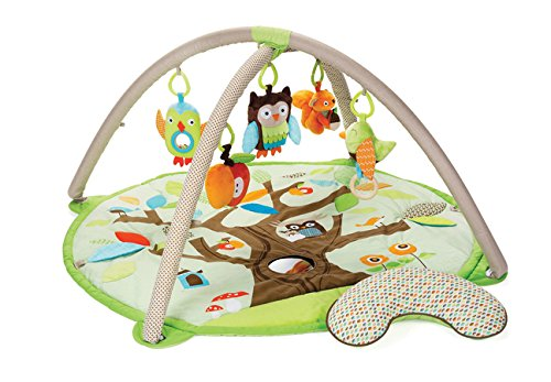 Skip Hop Baby Treetop Friends Activity Gym/Playmat, Multi (Activity Gym Infant)