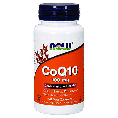 NOW CoQ10 Hawthorn Berry Capsules