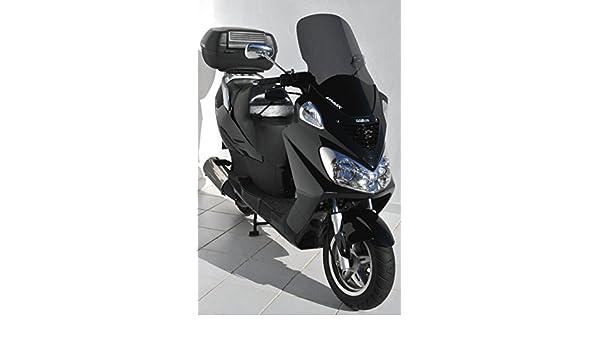 Parabrisas para scooter original 54 cm para DAELIM 125 S2 2006 2010 marr/ón transparente