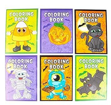 Amazon.com: Libros para colorear de Halloween, paquete de 12 ...