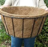 CS/5 - 20'' SINGLE BASIC BASKET PLANTER LINER (NO HOLES)(only include liners)