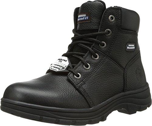 Skechers for Work Men's Workshire Condor Work Boot,Black,10 M US by Skechers (Image #3)