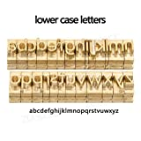 ZONEPACK Copper Brass Stamping Flexible Letters
