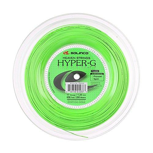 Solinco Hyper-G (17-1.20mm) Tennis String Reel (656ft / 200m)