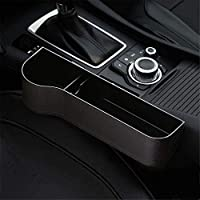 SUNMORN Car Seat Gap Organizer, Multifunctional with Small Cup Holder, Storage Box, NOT FIT Console Lower Than The Seat